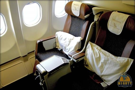 South African Business Class Review Johannesburg (JNB) to Dakar (DKR) SA 207, A330
