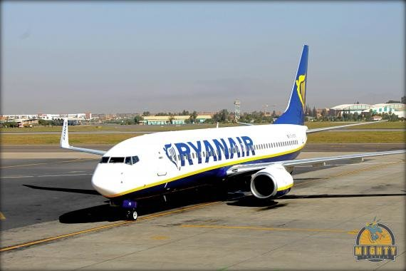Flight Review Ryanair Marrakech (RAK) to London-Stansted (STN)