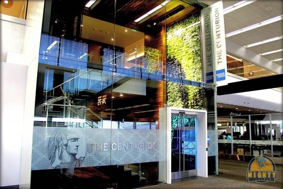 American Express Centurion Lounge San Francisco Review