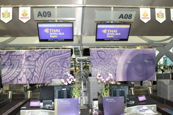 Review: Thai Airways Business Class Lounge & regional business class to Chengdu, China TG618