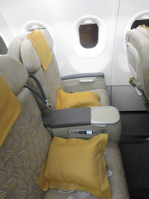 Asiana Business Class Seoul, South Korea to Siem Reap OZ 737 Review