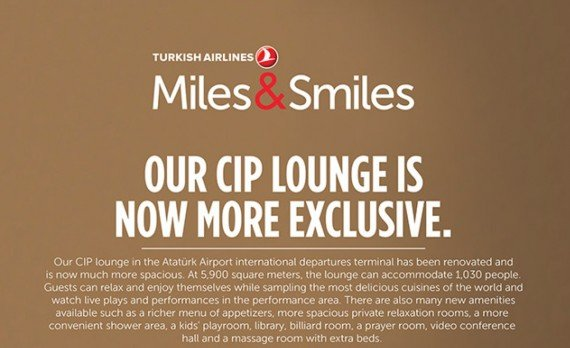Renovated CIP Turkish Airlines Lounge in Istanbul