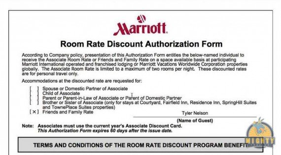 Marriott Friends and Family rate – Is it worth having?