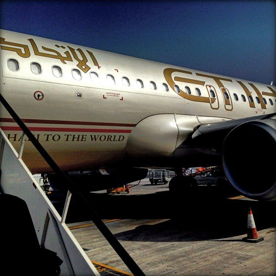 Etihad Business Class A320 Review (Abu Dhabi – Male)
