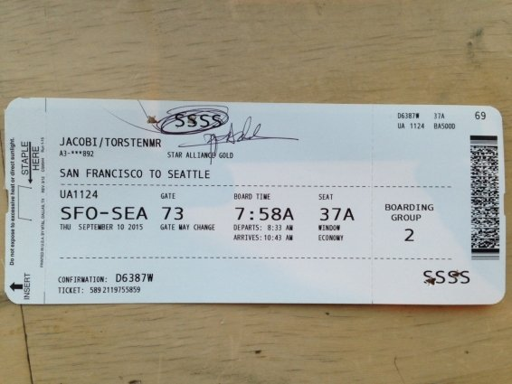 What does SSSS mean on my boarding pass? And why this probably started after you went to Turkey.
