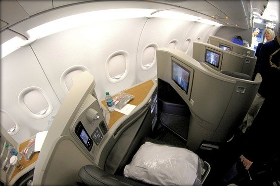 American Airlines Review First Class Flagship A321T 3 class – San Francisco to New York AA164