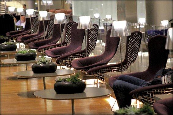 Qatar Business Class Lounge Al Mourjan Review Doha Airport