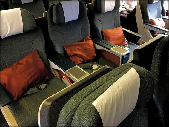 Is Cathay Pacific Business Class the best Business Class to sleep in?
