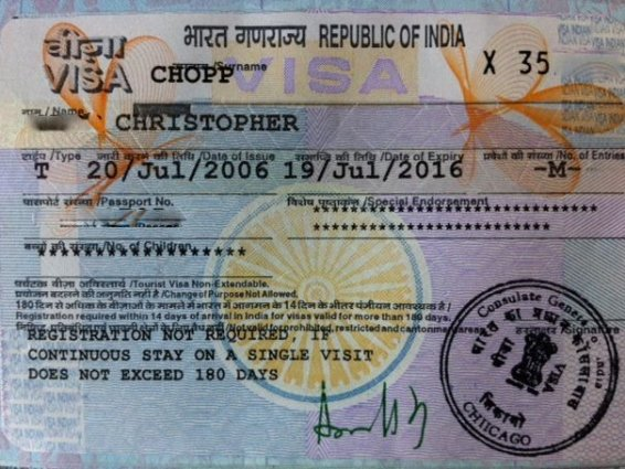 How I got a 10 year Indian Visa in just two days – for $140