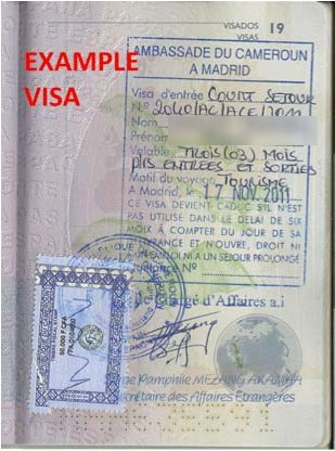 How I got my Cameroon visa in just one week