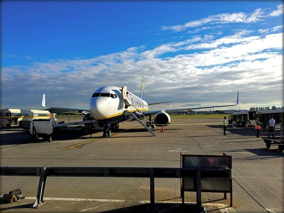 Ryanair Business Plus Edinburgh – Dublin Review
