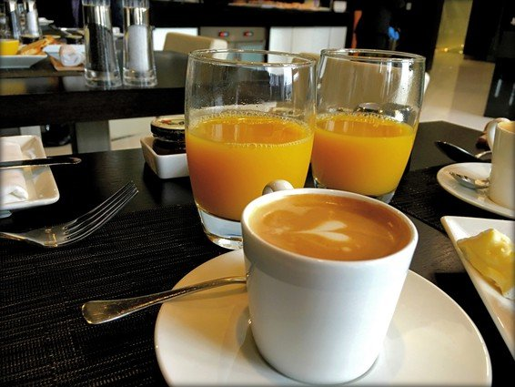 Etihad Business Class Lounge Dublin Review
