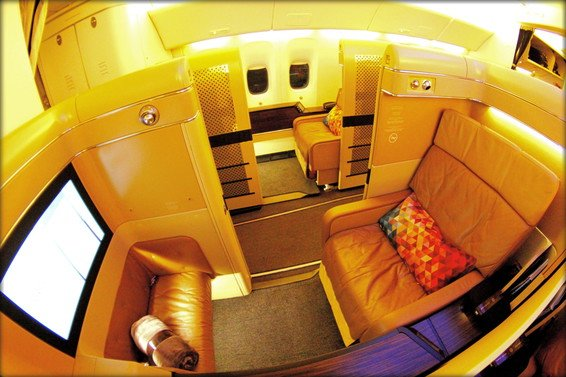 Etihad First Class Review Abu Dhabi (AUH) to San Francisco (SFO) EY183 777-200