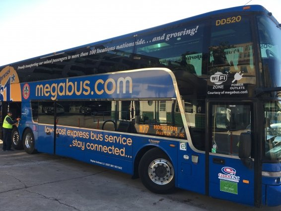My Megabus Review from Austin to Houston