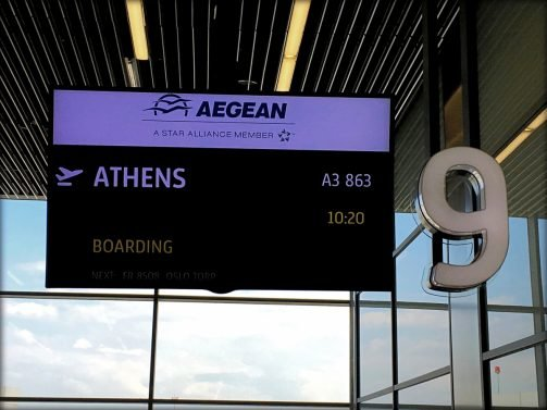 Aegean Airlines Economy Class Review Krakow (KRK) to Athens (ATH) and then Athens (ATH) to Tbilisi (TBS)