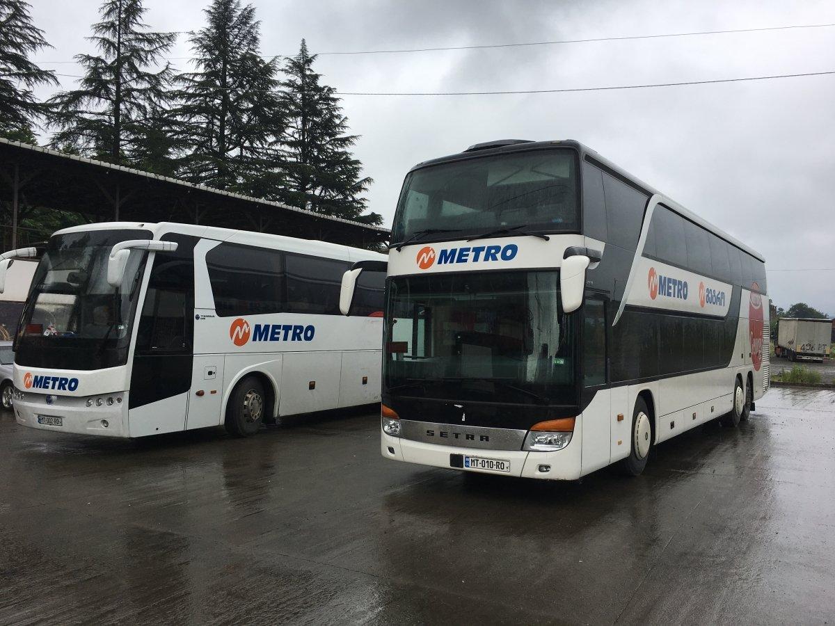 My Georgian Railway Train Review Tbilisi to Batumi and Metro Georgia Bus Review Batumi to Tbilisi