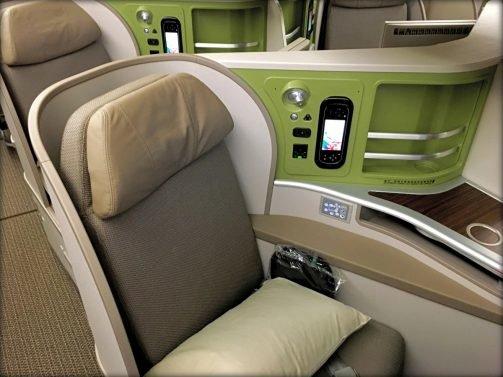 EVA Air Business Class Review Taipei (TPE) to Vancouver (YVR) 777-300, Infinity Lounge Taipei Review and Plaza Premium Lounge Taipei Review
