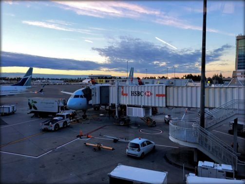 Air Canada Business Class Review Vancouver (YVR) to San Francisco (SFO) A320