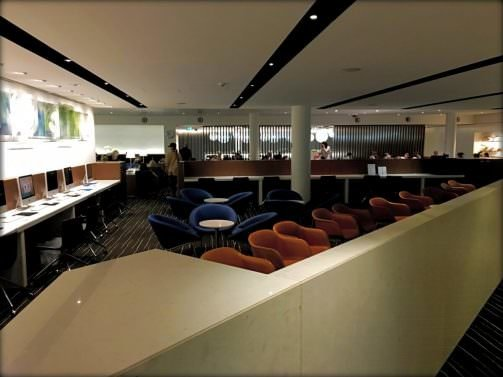 Qantas First Class Lounge Melbourne Review