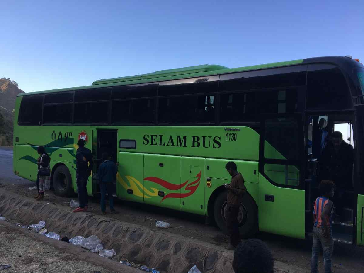 Selam Bus Review from Addis Ababa to Bahir Dar