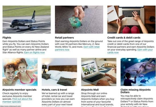 The basics (and tips and tricks) of redeeming Air New Zealand Airpoints