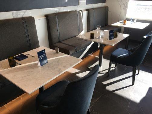 United Polaris Lounge San Francisco Review