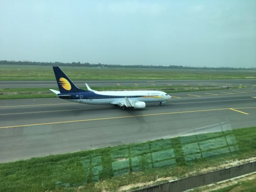 Jet Airways Economy Review New Delhi (DEL) to Kathmandu (KTM) (and return) B737, ITC Lounge Review DEL, Executive Lounge Review KTM