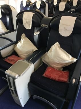 South African Review Business Class  A320 and A340 Nairobi (NBO) to Mauritius (MRU) via Johannesburg (JNB)