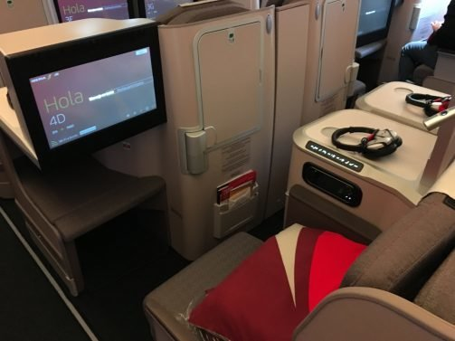 Iberia NEW Business Class Review A350 New York (JFK) to Madrid (MAD) – The proud and the lazy… plus BA First Lounge New York Terminal 7 and Alaska Lounge Terminal 7