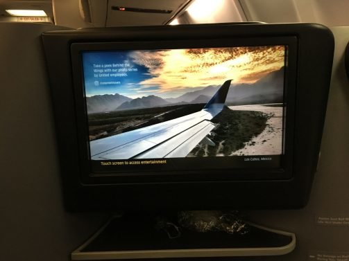 United Business Class 757 Premium Transcontinental Service (formerly p.s.) San Francisco to Newark