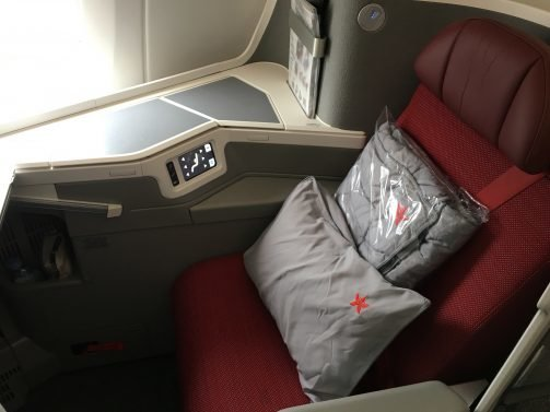 My review of Hong Kong Airlines Business Class A350 San Francisco/ Los Angeles to Hong Kong and A330 to Taipei
