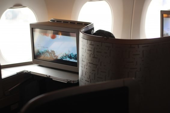 Photo Review : China Airlines A350 Business Class