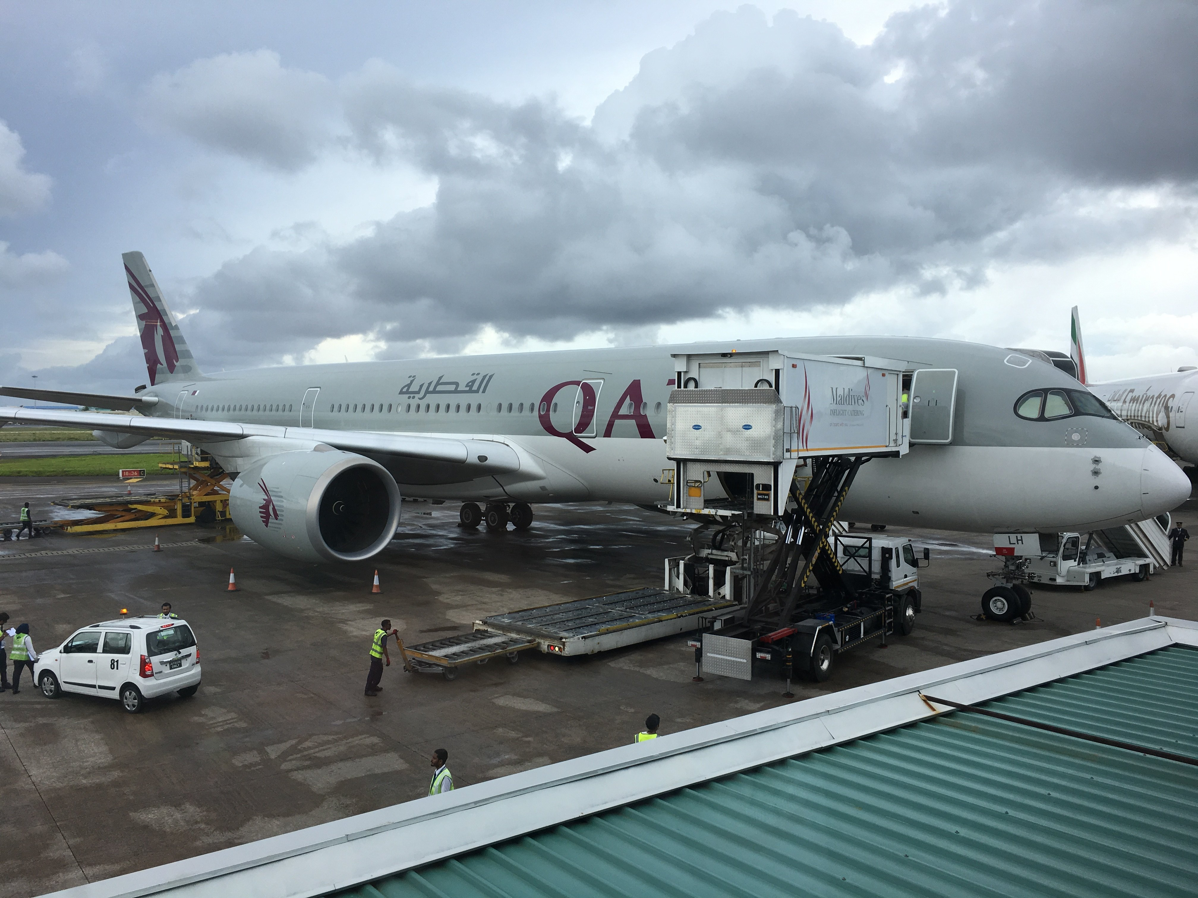 A true delight – Qatar Airways  Business Class Review A359 Male, Maldives (MLE) to Doha (DOH)