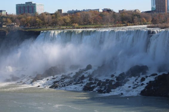 Photo Review Niagara Falls (from the Canadian side)